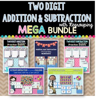 Two Digit Addition & Subtraction MEGA Bundle