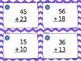 Two-Digit Addition & Subtraction Whole Number Task Cards