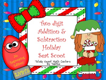 Two Digit Addition & Subtraction Without Regrouping Seat S