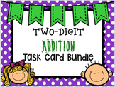 Two Digit Addition Task Card Bundle