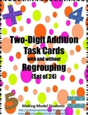 Two-Digit Addition Task Cards