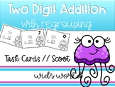 Two Digit Addition Task Cards