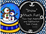 "Two Digit Addition Task Cards-""Snow"" Much Fun!!"