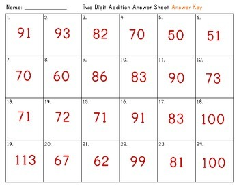 Two Digit Addition Task Cards (with regrouping)