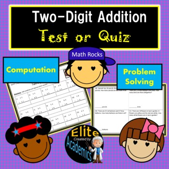 Two-Digit Addition Test