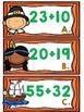 Two-Digit Addition Thanksgiving Math Center