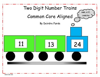 Place Value Addition Train