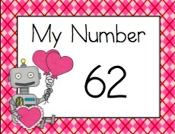 Two Digit Addition Walk the Room Valentine Edition