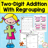 Double Digit Addition With Regrouping Worksheets