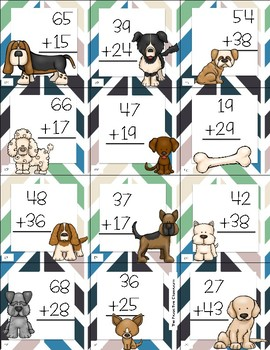 Two Digit Addition With Regrouping Top Dog Game