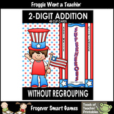 "Two-Digit Addition Without Regrouping Clip Cards--""Superhe"