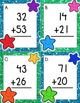 Two-Digit Addition Write the Room *No Regroup*!
