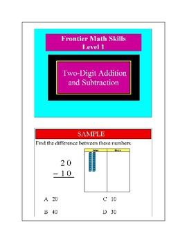 Two-Digit Addition and Subtraction