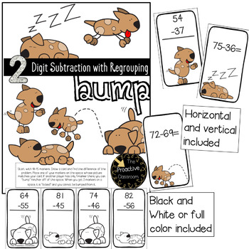 Two Digit Addition and Subtraction Bump MEGA PACK