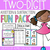 Two Digit Addition and Subtraction Activities