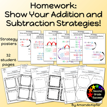 Two-Digit Addition and Subtraction Homework