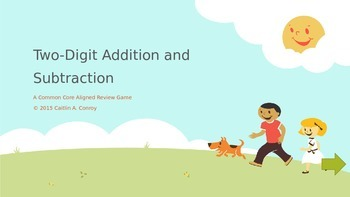 Two-Digit Addition and Subtraction Review Game