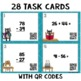 Two Digit Addition and Subtraction With Regrouping Task Cards with QR Codes