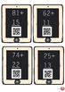 Two Digit Addition (no trading) Task Cards with QR Code Answers