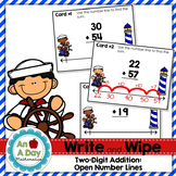 Two-Digit Addition using Open Number Lines