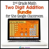 Two Digit Addition with Regrouping BUNDLE Google Classroom