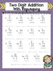 Two Digit Addition with Regrouping Practice Sheets