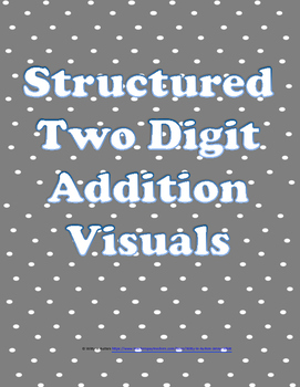 Two Digit Addition with Visuals