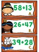 Two-Digit Addition with regrouping Thanksgiving Math Center