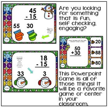 Addtion and Subtraction Interactive Powerpoint Game First and Second Grade