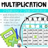 Two Digit By Two Digit Multiplication Game
