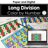Two-Digit Division Color by Number (no remainders)