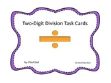 Two-Digit Division Task Cards