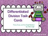 Two Digit Divisors Task Cards