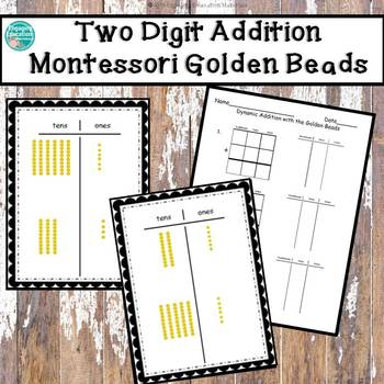 Two-Digit Dynamic Addition with the Montessori Golden Beads
