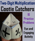 Double Digit Multiplication Game for 2nd, 3rd, 4th, 5th, 6th Grade