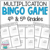 Two Digit Multiplication BINGO Game