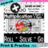 Two Digit Multiplication: GAME: 4th Grade 4.NBT.B.5