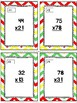 Back to School Two-Digit Multiplication Task Cards & Game 4.NBT.5