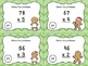 Two Digit Multiplication Task Cards - Gingerbread Theme -