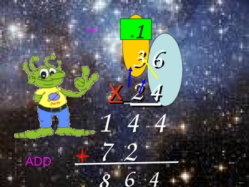 Two Digit Multiplication for Visual Learners