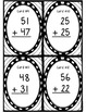 Two-Digit No Regrouping Addition Task Cards!  Great for SCOOT!