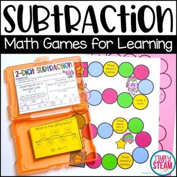 Two Digit Subtraction   2 Digit Subtraction