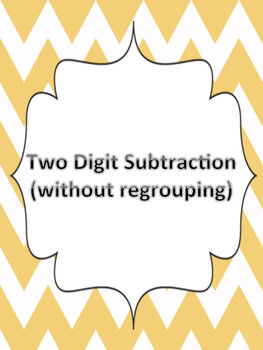 Two Digit Subtraction