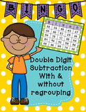 Two-Digit Subtraction Bingo Class Set With and Without Regrouping
