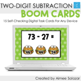 Two-Digit Subtraction Boom Cards / Digital Task Cards / Di