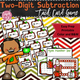 Fall Math Game Two-Digit Subtraction Envision Math 2.0 Topics 5 & 6
