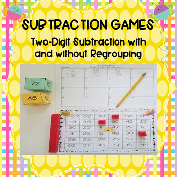 Two Digit Subtraction Game