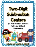 Two Digit Subtraction Centers