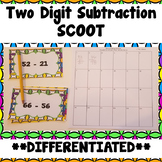 Two Digit Subtraction Scoot