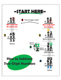 Two-Digit Subtraction Visual Guide